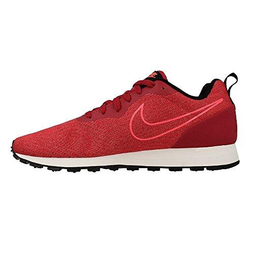 Nike Herren MD Runner 2 Engineered Mesh Sneaker rot / schwarz