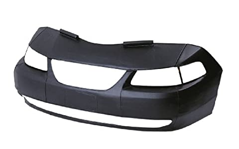 LeBra Front End Cover Honda Civic - Vinyl, Black (1996 Honda Civic Hood Cover)