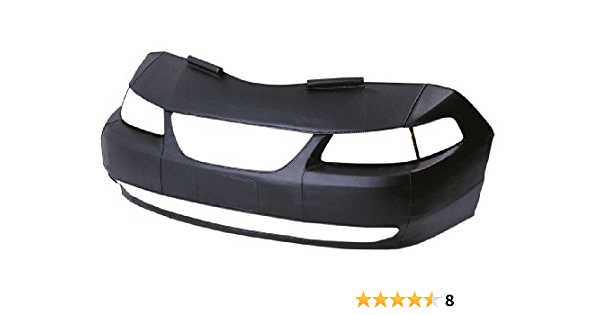 Vinyl LeBra 55836-01 Front End Cover Chevrolet Trailblazer Black