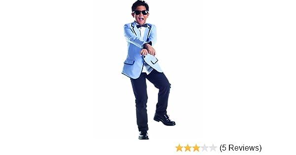 Psy Costume Adult Gangnam Style Pop Star Funny Halloween Fancy Dress