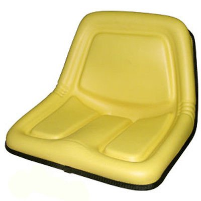 TY15863 New Yellow High Back Seat Made for John Deere Rid...