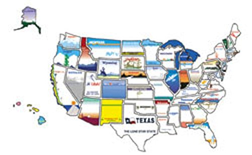 State Sticker Map Stickers product image