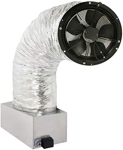 Centric Air 3.4A Whole House Fan with R-10 Power Actuated Cold Weather Damper 3242 CFM HVI-916 Includes Two Speed Wireless Remote Control Timer Homes up to 2800 Sqft 15 Year Warranty