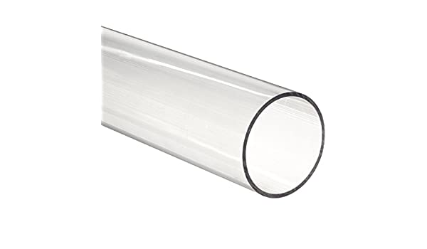 1//4 Wall Thickness Smooth Finish ASTM D5436 4 ID Cast Acrylic Hollow Round Rod Clear 4-1//2 OD 1 Length