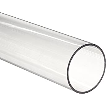Amazon Com 11 7 8 Quot Polycarbonate Round Tube Clear 3 3