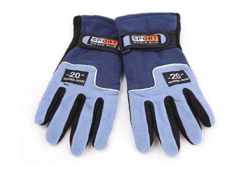 Winter Thermo-Fleece Warme Outdoor Handschuhe, winddicht wetter Ski Klettern hking Fahrradhandschuhe für Frauen und Mädchen, 6 Farben