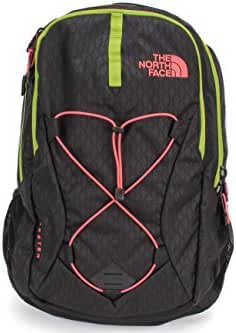 The North Face W Jester Tnf Black Emboss/Calypso Coral Womens Daypack