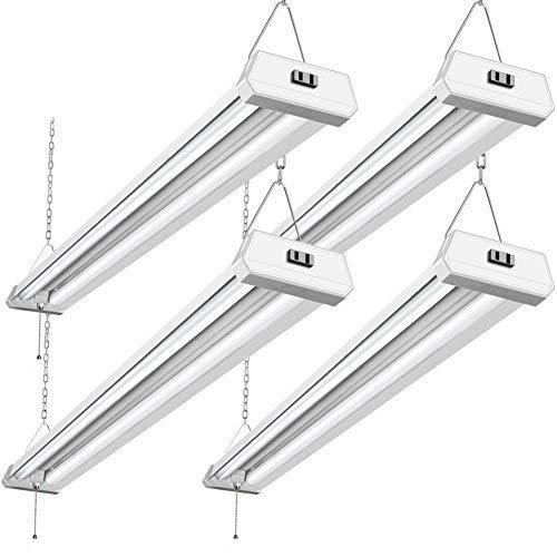 42W Linkable LED Shop Light for Garage BBOUNDER 48 Inch 4FT