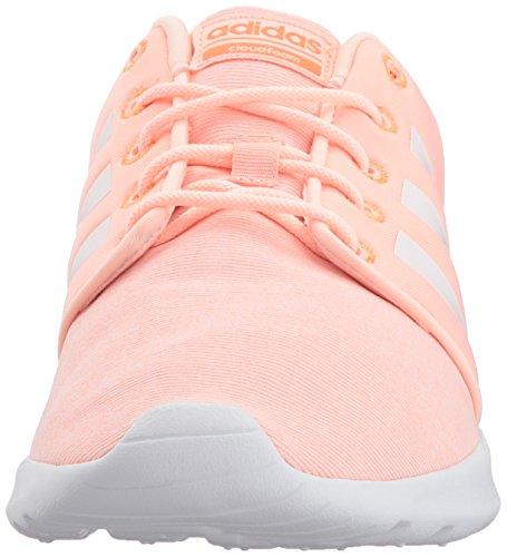 adidas Women's Cf Qt Racer W Sneaker Haze Coral/White/Hi-res Orange genuine cheap online 1u1O7
