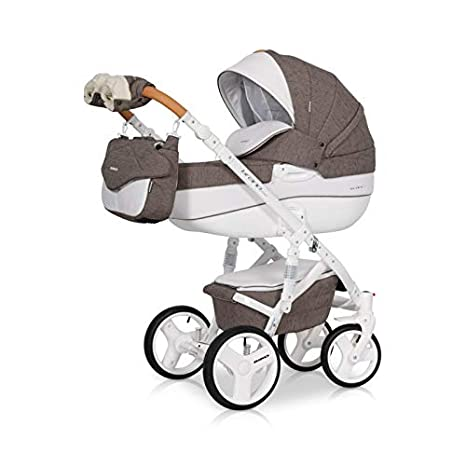 Carro 3 piezas Brano luxe mocca: Amazon.es: Bebé
