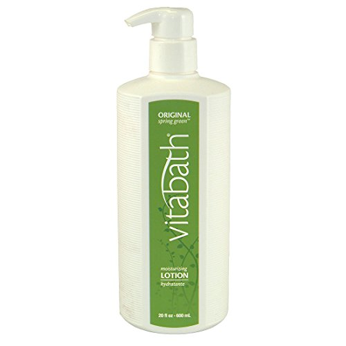 (Vitabath Lotion, Moisturizing, Original Spring Green, 20-Ounces (Pack of 3))