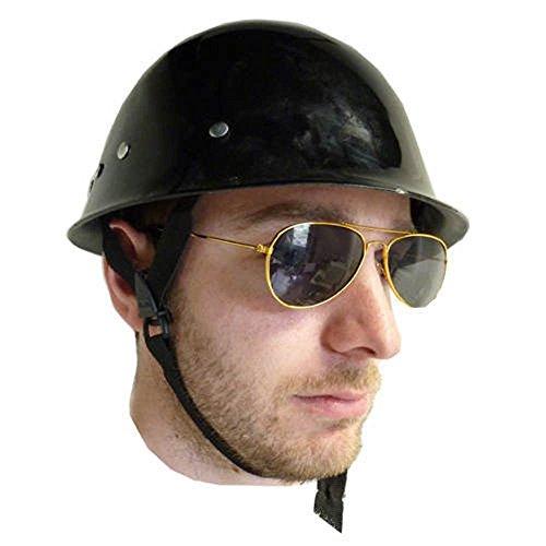 [Black Child Army Helmet Police Swat German Costume Accessory Commando] (German Officer Hat Costume)