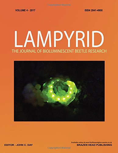 Lampyrid Volume 4: Journal of Bioluminescent Beetle Research