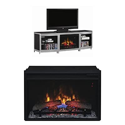 "Complete Set Gotham Media Mantel with 26"" Infrared Spectrafire Plus with Safer Plug"