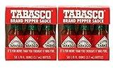 TABASCO brand Pepper Sauce 6-pack Miniatures 1/8oz (2 Pack)