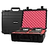 SiForce Drive Transporter Case L12 Rugged Case with Pink Anti-Static Foam for 12 Internal 3.5 inch HD Drives