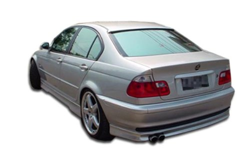 Duraflex Replacement for 1999-2001 BMW 3 Series E46 4DR Type H Rear Lip Under Spoiler Air Dam - 1 Piece ()