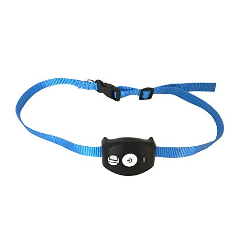 Yunt GPS Pet Tracker Locator Activity Monitor Dog Collar Waterproof SMS and GPRS Two Modes Switched Blue by Yunt