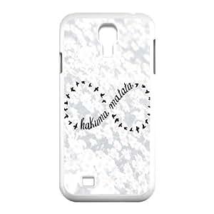 Hakuna Matata ZLB541609 Customized Phone Case for SamSung Galaxy S4 I9500, SamSung Galaxy S4 I9500 Case
