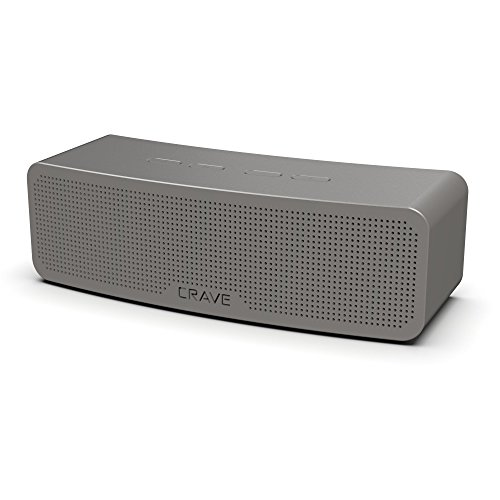 Crave Curve Portable Bluetooth Wireless Intelligent Speaker with Enhanced Bass, Built-in Microphone and Speakerphone