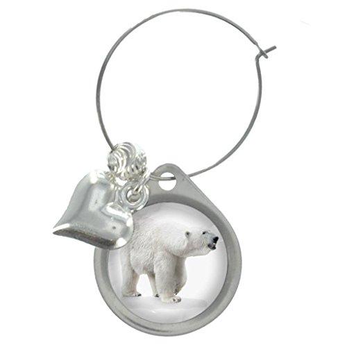 polar bear resin charm - 5