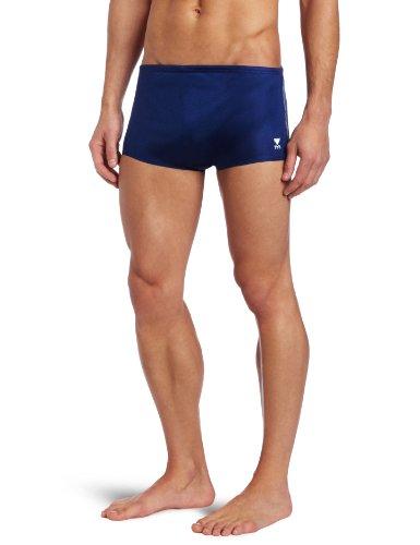 TYR Sport Men's 8-Inch Nylon Team Trainer Swim Suit