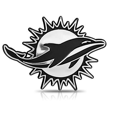 - NFL Miami Dolphins Premium Metal Auto Emblem