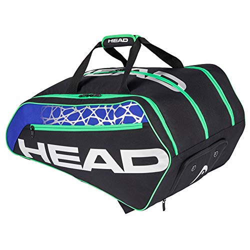 HEAD Racquetball Tour Bag - Racket Bag w/Multiple Compartments & Adjustable Shoulder Straps