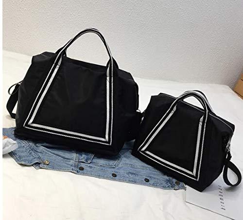 Handbag Small One schwarz Acvip Size Women's 50SqwST7