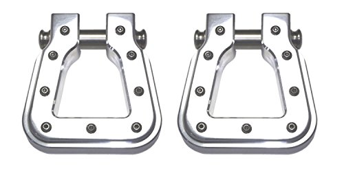 All Sales 8802P-2 Polished Ami Demon Hook- Square D-Ring
