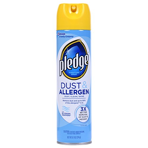 Pledge Dust and Allergen Furniture Spray 9.7 Ounce (Pack Of 3) - Pledge Dust
