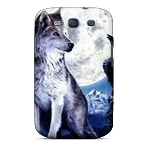 Hot Snap-on Mountain Wolf Hard Cover Case/ Protective Case For Galaxy S3