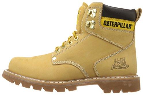 "Caterpillar Men's 2nd Shift 6"" Plain Soft Toe Boot,Honey,11 M US"
