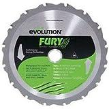 evolution(エボリューション) FURY1 190mm万能切断チップソ-