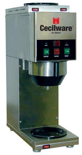 Grindmaster-Cecilware Java 2 QB-D2 W/1 Dispense Head Decanter/Cup Soluble Coffee Dispenser, 2-Hopper