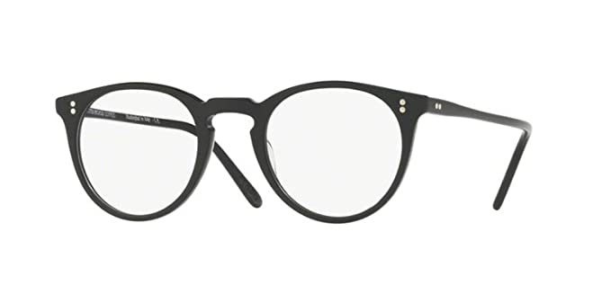 346d7e814e Amazon.com  Oliver Peoples - O Malley - 5183 47 - Eyeglasses (BLACK ...