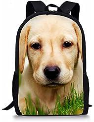 Coloranimal Cute 3D Pet Dog Cat Backpack Kids Animal Pattern School Bookbags