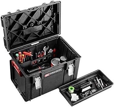 Facom BSYS.BP400 Caja de Herramientas con Fondo Y Almacenamiento Vertical, Negro: Amazon.es: Bricolaje y herramientas