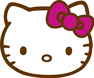 Amazon Com Sanrio Hello Kitty I Love You Rug Kitchen