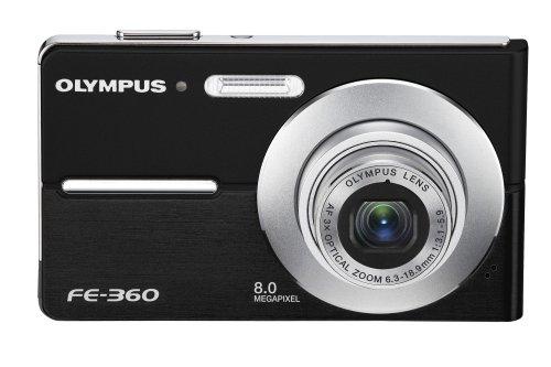 Olympus FE360 8MP Digital Camera with 3x Optical Dual Zoom (Olympus Fe)