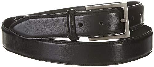 Boca Classics Mens Soft Touch Dress Belt 32W Black ()