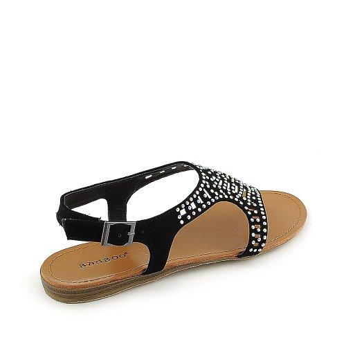 Womens Sandal Black Bamboo Steno 87 Bamboo Womens XwY41xq1E