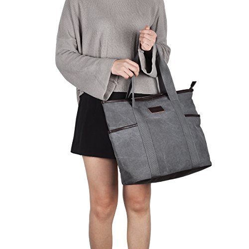 Canvas-Tote-Bag-for-WomenSunny-Snowny-Large-Tote-BagsWork-School-Shoulder-Bag