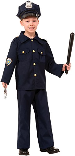 Forum Novelties Police Officer Costume, Small (Dress Up Police Uniform)