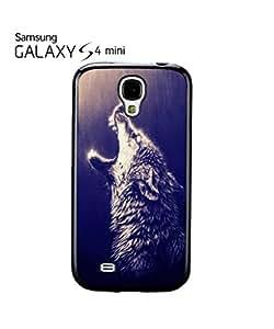 Howling Wolf Rain Native American Cell Phone Case Samsung Galaxy S4 Mini Black