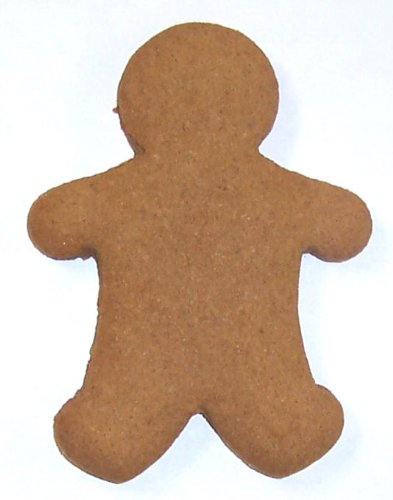 Scott's Cakes Hand-Rolled & Fresh Baked Undecorated Mini Christmas Gingerbread