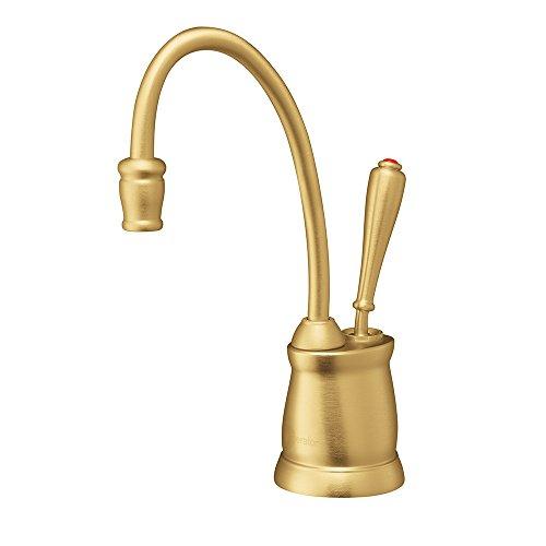 InSinkErator F-GN2215BB Indulge Tuscan Hot Water Dispenser Faucet, Brushed Bronze ()