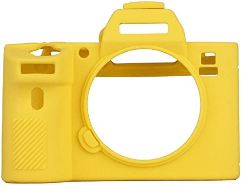 Professional Silicone Rubber Camera Housing Case Cover Detachable Shockproof Full body Protective case for Sony A7II//A7RII//A7SII Yellow STSEETOP Sony A7II//A7RII//A7SII Case with Texture Process