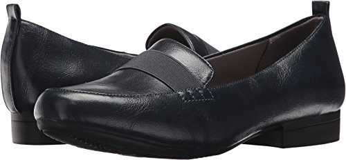 LifeStride Women's Indella Loafer, Navy, 9 M US Navy Ladies Shoes