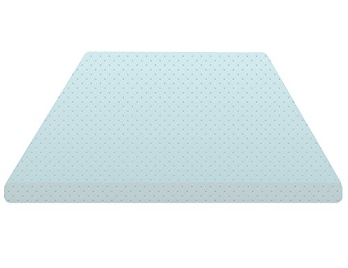 Continental Sleep High Density Foam Mattress Topper, Queen